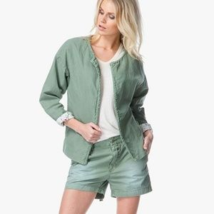 Closed Cotton Linen jacket